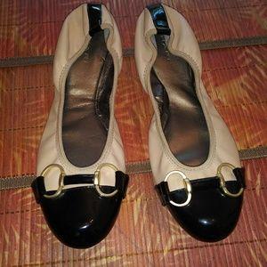 Tahari ballet flats